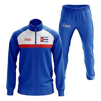 Cuba Concept fodbold træningsdragt (blå)