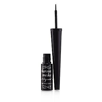 KISS ME Heroine Make Impact Liquid Eyeliner Super Waterproof - # 01 Black 2.5g/0.09oz