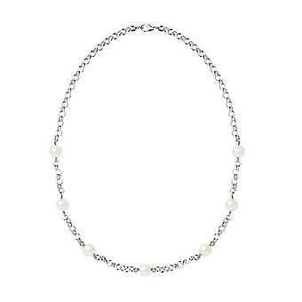 Collier en Argent 925 et Perles de culture Blanches