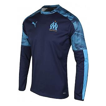 96948caad 2019-2020 Marseille Training Crew Sweat (Peacot)