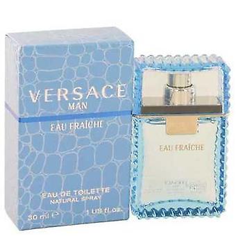 Versace Man von Versace Eau Fraiche Eau De Toilette Spray (blau) 1 Oz (Männer) V728-440253