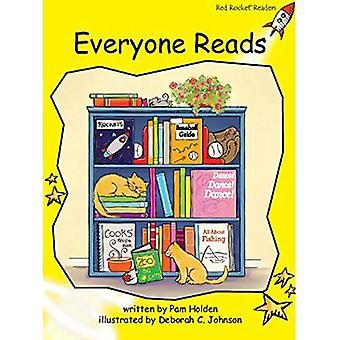 Everyone Reads (Red Rocket Readers)