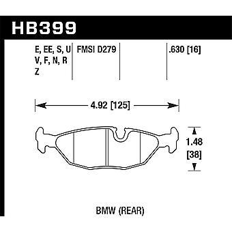 Hawk Performance HB399E.630 Blue 9012