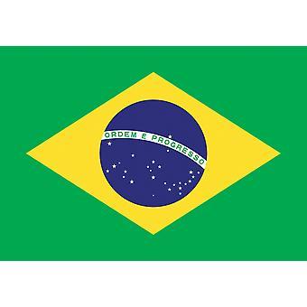 5 pés x 3 pés bandeira - Brasil