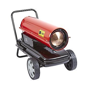 Industrial Diesel Paraffin Space Heater Workshop Garage Warmer with Wheels