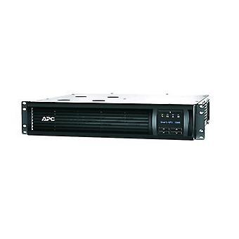 Apc smart-ups smt1000rmi2uc 1,000 va 700w 6 sockets black
