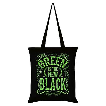 Grindstore Green Is The New Black Tote Bag