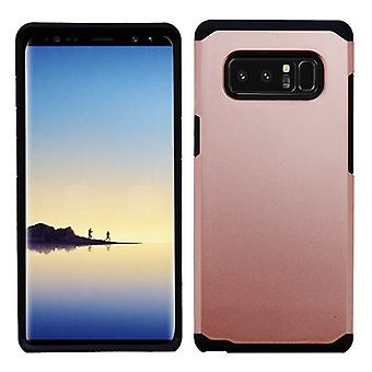 ASMYNA Rose Gold/Black Astronoot Phone Protector Cover  for Galaxy Note 8