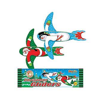 واحد حشو كيس حفلة سانتا أو ثلج رغوة طائرة شراعية عيد الميلاد
