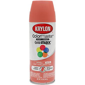 Colormaster Indoor/Outdoor Aerosol Paint 12oz-Paprika 1000A-53579
