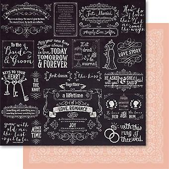 Bella! Rustic Charm Double-Sided Cardstock 12