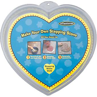 Stepping Stone Mold Heart 12