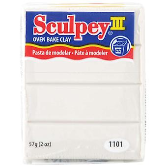 Sculpey Iii Polymer Clay 2 onces Pearl S302 1101