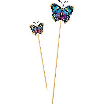 Butterfly Plastic Canvas Kit-2.5
