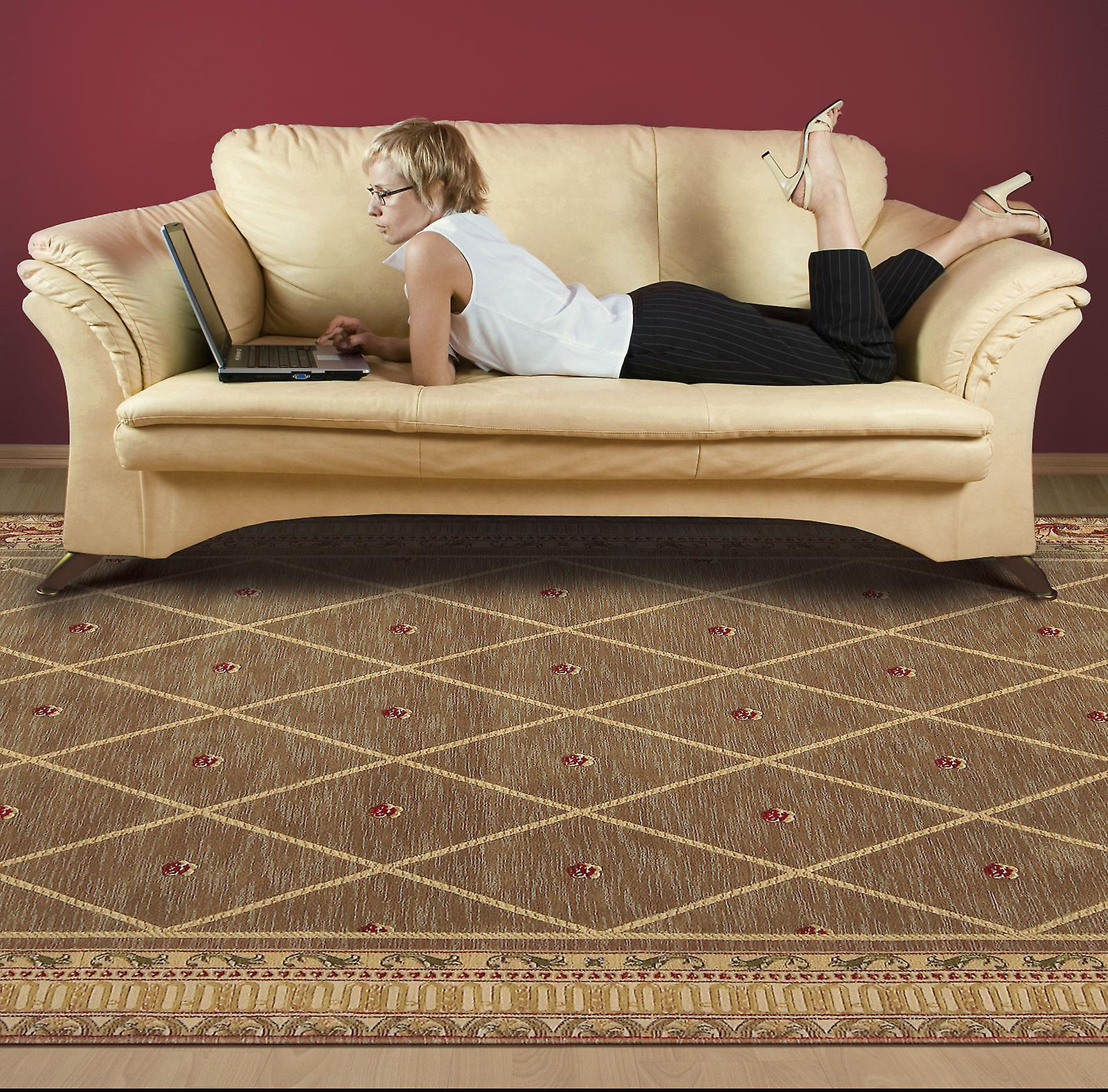 Ashton House Rugs By Nourison As03 In Cocoa