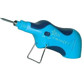 Soldering iron 6 V 6.5 W Star Tec ST 10602 Pencil-shaped +165 up to +480 °C Battery-powered