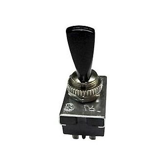 Toggle switch 250 Vac 6 A 2 x On/Off/On SCI R13-25E1-05 latch/0/latch 1 pc(s)