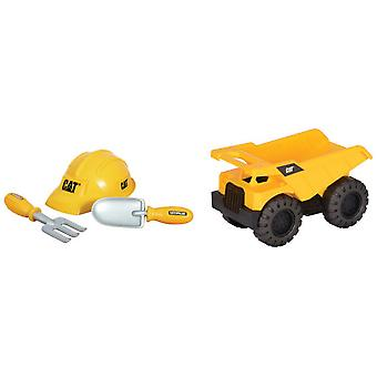 CAT Cargo Truck With Accessories 26 Cm Tough