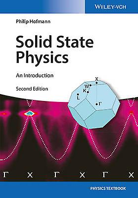 Solid State Physics by Philip HofhomHommes