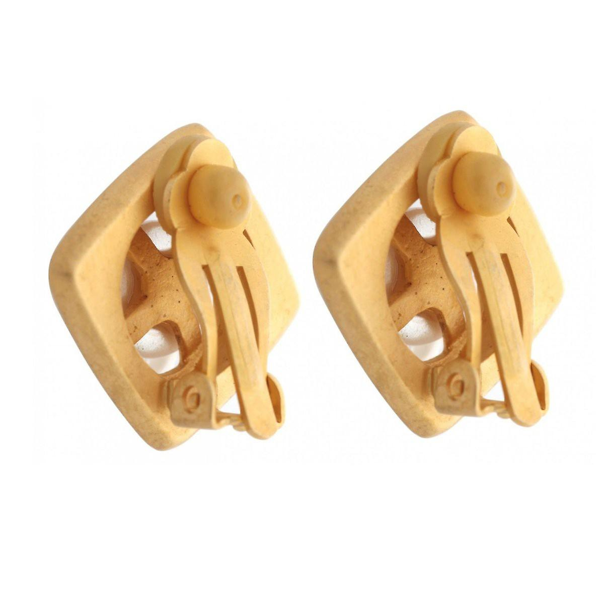 Misaki ladies earring ear clip gold MIRAMAR QCRCMIRAMAR