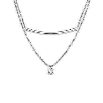 s.Oliver Jewel Damen Kette Collier Silber Zikonia 2015113