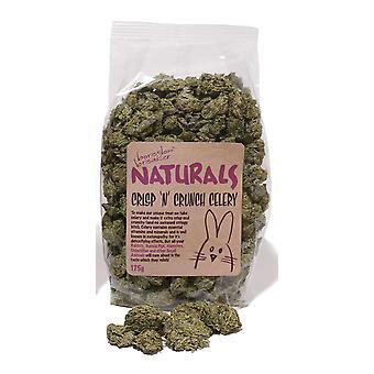 Verveling Breaker natuurlijke traktaties Crisp N Crunch selderij 175g (Pack van 6)