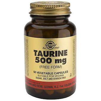 Solgar Taurine 500mg. 50Cap. (Vitamins & supplements , Sport , Multinutrients , Others)