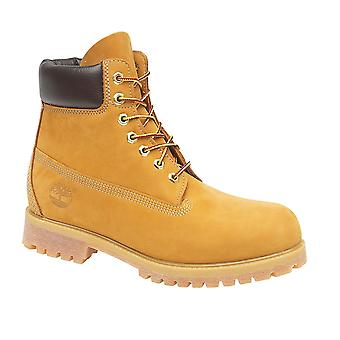 Timberland 10061 Mens Boots Leather Wheat Nubuck Eyelet Lace Up Footwear Shoes