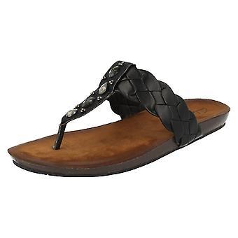 Clarks damer tå indlæg sandaler Raina Street
