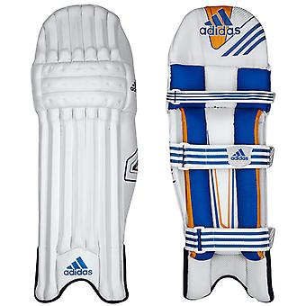 adidas Club Mens Cricket Batting Pads Leg Guards White/Blue