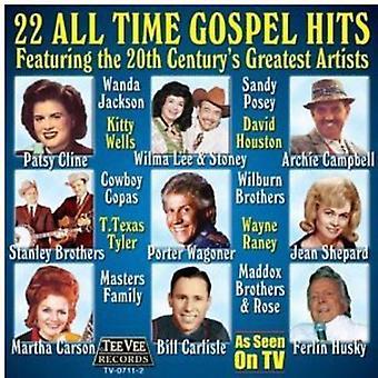 22 alle tiders største evangeliet Hits - 20 alle tid største evangeliet Hits [CD] USA importerer