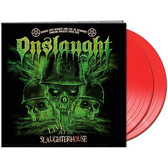 Onslaught - Live at the Slaughterhouse (Red Vinyl) [Vinyl] USA import