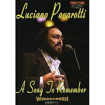 Luciano Pavarotti - sang at huske [DVD] USA import