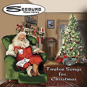 Seeburg Fonoteca: 12 canciones para la Navidad / Va - biblioteca de música de Seeburg: 12 canciones para la Navidad / de la importación de los E.e.u.u. Va [CD]