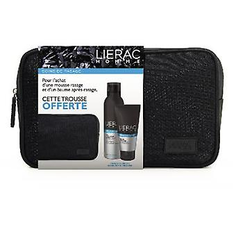 Lierac Neceser Homme Shaving Foam without Box + After Shave Baume Apaisant