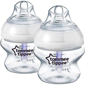 Tommee Tippee Closer to Nature Advanced Comfort 150ml x 2 Bottles 0m+