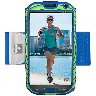 Nathan Sonic Boom Armtasche für Samsung Galaxy S4 blau-grün 4925NEB