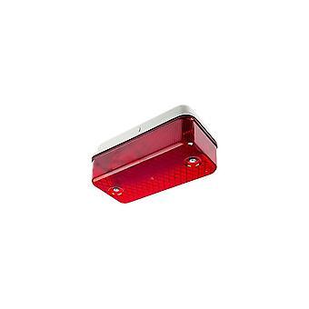 Ansell skiljevägg 100W E27 röd lins
