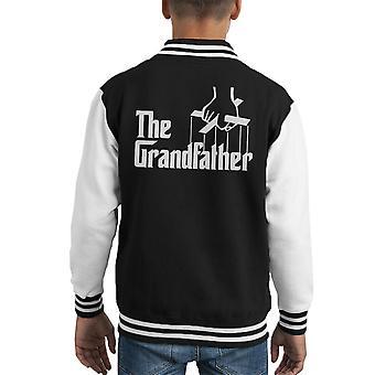 The Godfather The Grandfather Kid's Varsity Jacket