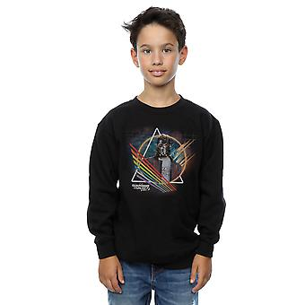 Marvel Boys Guardians of the Galaxy Neon Star Lord Masked Sweatshirt