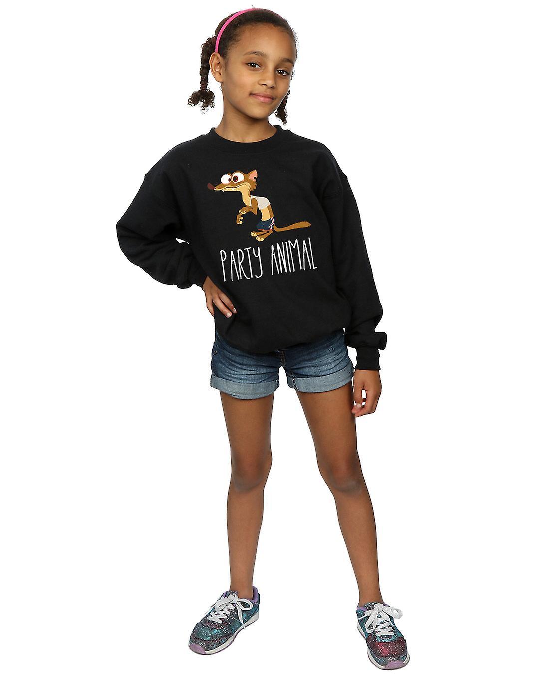 Disney Girls Zootropolis Party Animal Sweatshirt