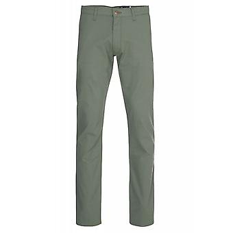 Wrangler men's trousers Lars tone green stretch pants