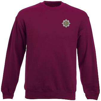 Scots Guards Embroidered Logo - Official British Army Heavyweight Sweatshirt