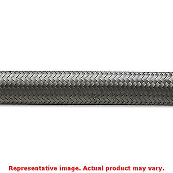 Vibrant Braided Flex Hose 11904 Stainless -4AN Fits:UNIVERSAL 0 - 0 NON APPLICA