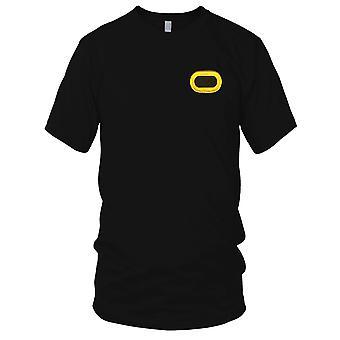 Los E.E.U.U. ejército batallón de regimiento de infantería aerotransportada - 509th bordado parche - Oval de las señoras T Shirt