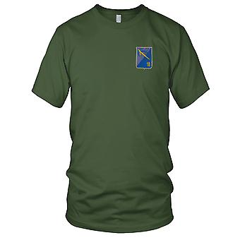 ARVN 18th Infantry Division - SUPERMEN - Military Insignia Vietnam War Embroidered Patch - Mens T Shirt