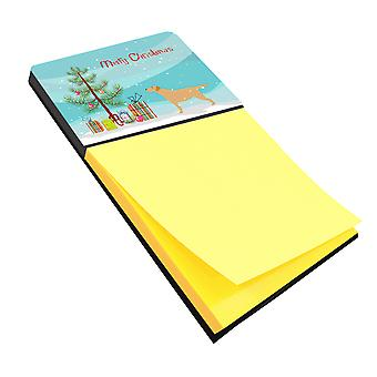 Yellow Labrador Retriever Merry Christmas Tree Sticky Note Holder