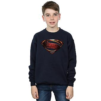 DC Comics pojkar Justice League filmen Superman Emblem Sweatshirt