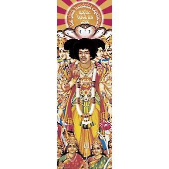Jimi Hendrix - Axis Bold As Love - Slim Poster Poster Print