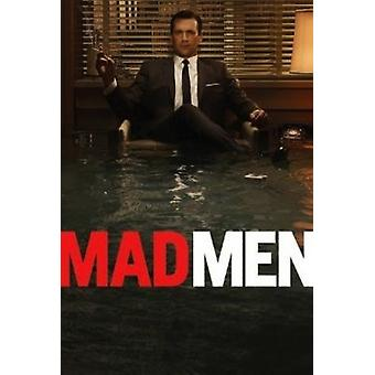 Mad Men - Don Draper Flood Poster Poster Print by